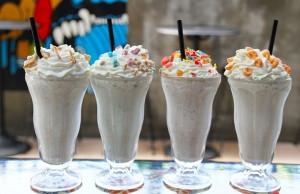 The Satellite Room offers cereal-inspired boozy brunch milkshakes. Photo courtesy of The Satellite Room.