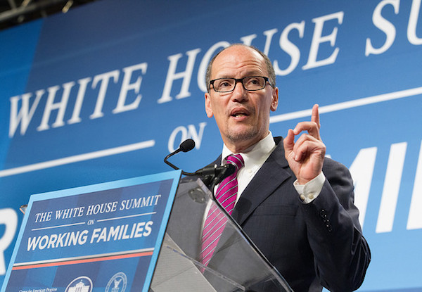 Photo: Thomas Perez. Credit: Department of Labor.