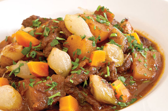 Boeuf la Bourguignon Photo by Rob Shelley National Gallery of Art Garden Cafe