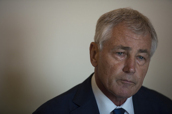 Photo: Chuck Hagel. Credit: DoD photo by Petty Officer 2nd Class Sean Hurt.