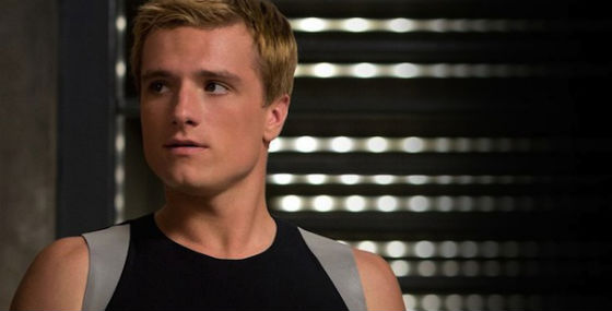 Josh Hutcherson in Hunger Games: Catching Fire