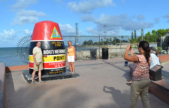 Key West Southernmost Marker Buoy
