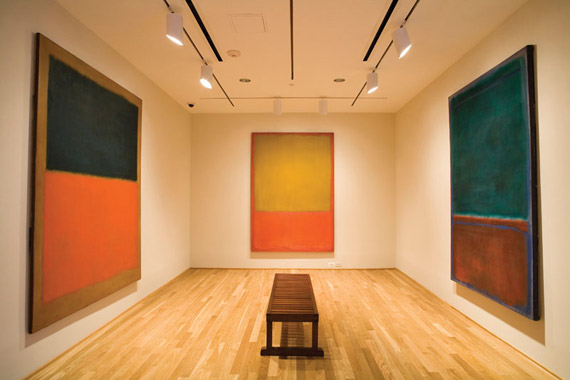 Rothko Room at the Phillips Collection Photo by Max Hirshfeld