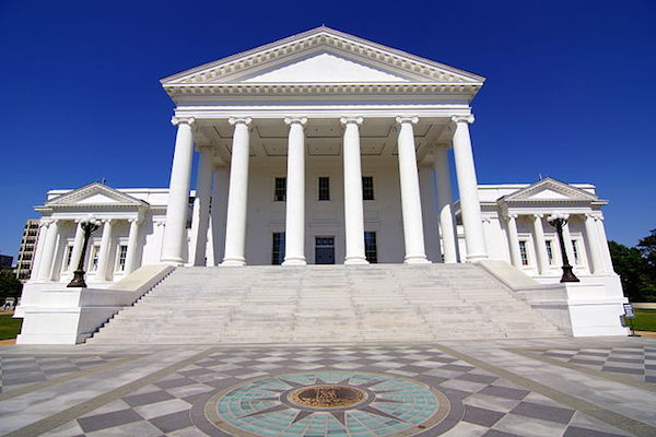 Photo: Virginia State Capitol. Credit: Skip Plitt/Wikimedia Commons.