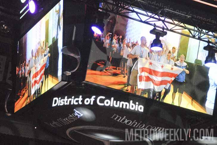 D.C. athletes at Gay Games 2014 Photo by Ward Morrison