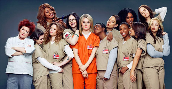 "Women of ""Orange Is the New Black"" Photo by Jill Greenberg"