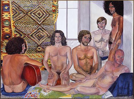 The Turkish Bath, Sylvia Sleigh (1916–2010), Oil on canvas, 1973