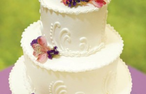 Wedding cake  Photo by Ward Morrison