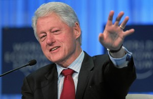 Photo: Bill Clinton. Credit: World Economic Forum/flickr.