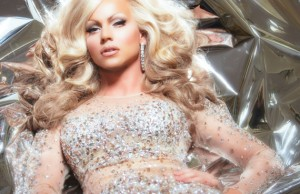 Courtney Act Photo by Magnus Hastings