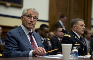 Photo: Chuck Hagel. Credit: DoD photo by Master Sgt. Adrian Cadiz.