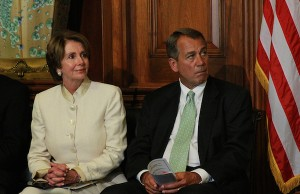 Photo: Nancy Pelosi and John Boehner. Credit: Talk Radio News Service/flickr.