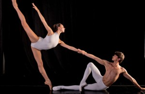 CityDance Conservatory Students: Lara Segrillo & Leonardo Moraes Photo by Theo Kossenas