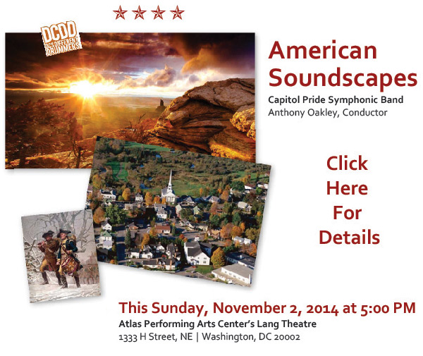 DCDD American Soundscapes - Capital Pride Symphonic Band - November 2