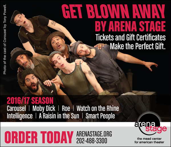 Arena Stage -- 2016/17 Tickets and Gift Certificates. 202-488-3300
