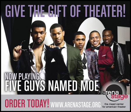 Arena Stage: Five Guys Named Moe -- www.arenastage.org