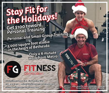 Fitness Generation -- www.thefitnessgeneration.com / 301-312-6301 / 7809 Woodmont Ave, Bethesda, MD