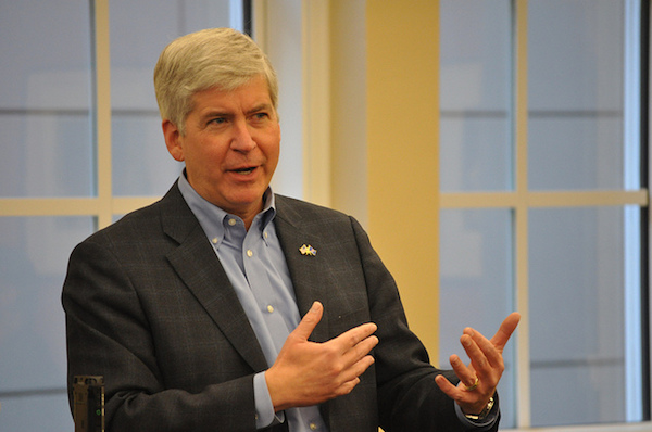 Gov. Rick Snyder - Credit: Michigan Municipal League/flickr