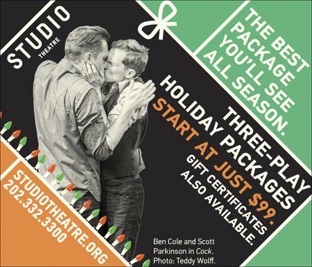 Studio Theatre -- studiotheatre.org / 202-332-3300