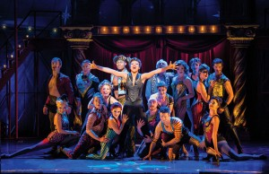 01 Sasha Allen as Leading Player and the Cast of the National Touring Production of PIPPIN. Credit Terry Shapiro