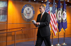 John Boehner - Credit: Official Photo by Bryant Avondoglio