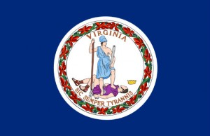 State flag of Virginia.