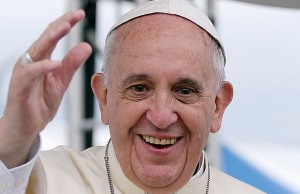 Pope Francis - Photo via Korea.net / Wikimedia