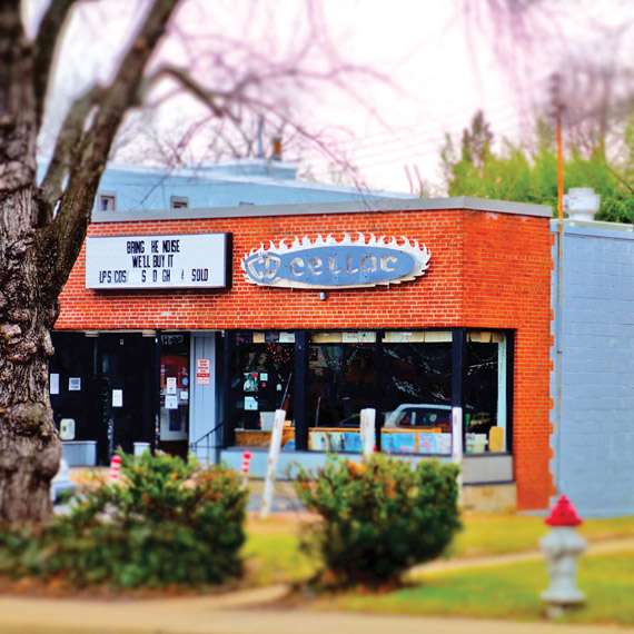 CD Cellar, Falls Church Photo by Todd Franson