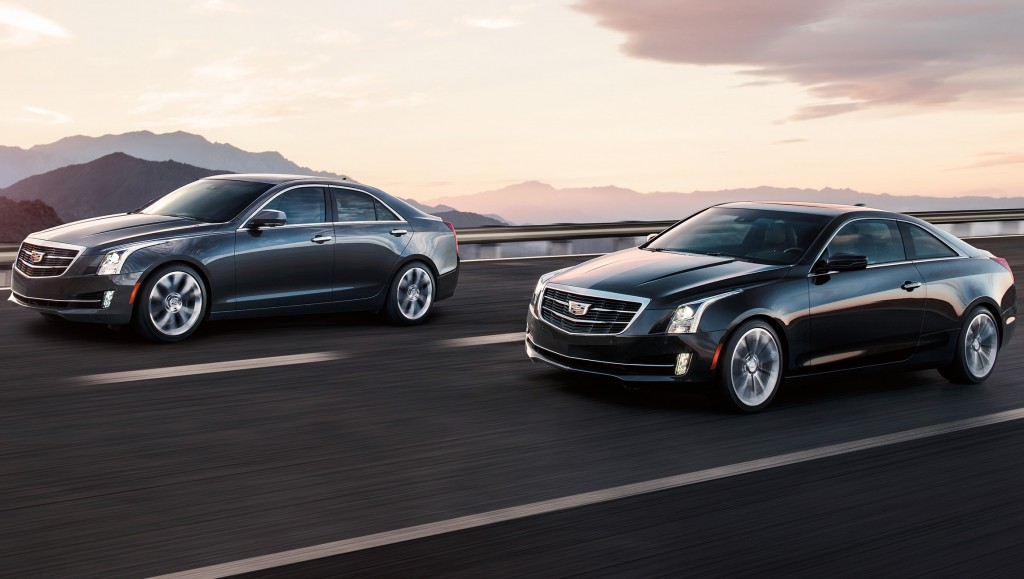 2015 Cadillac ATS (L) and ATS Coupe