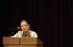 Ruth Bader Ginsburg - Credit Josh Edelson, Stanford Law/flickr