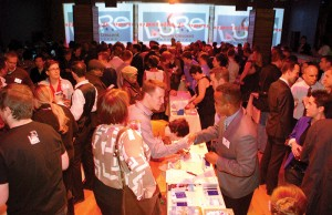 CAGLCC Mega Networking Photo by Ward Morrison.