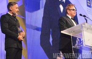 Elton John (right) and husband David Furnish - Credit: Ward Morrison/Metro Weekly