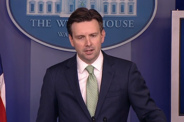 Josh Earnest - Screenshot via YouTube