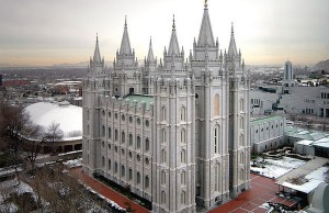 Salt Lake Utah Temple - Credit: Michael Whiffen/flickr