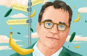 Russell T. Davies Illustration by Christopher Cunetto