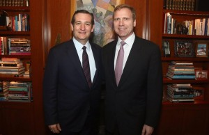 Senator Ted Cruz and Mati Weiderpass, Credit - Facebook