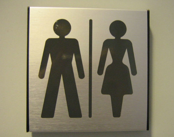 "Bathroom Signs California all gender"" bathroom bill passes california legislature - metro weekly"