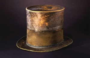 Silent Witness: Lincoln Hat Image courtesy National Museum of American History