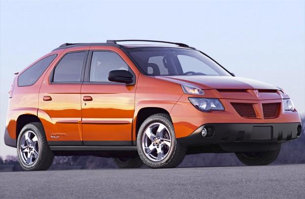 Pontiac Aztek, 2003, Credit - GM