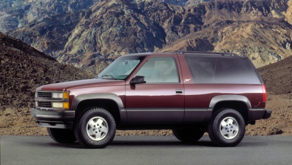 Chevrolet Tahoe Sport, 1995, Credit - GM