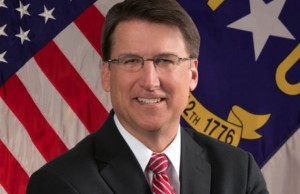 North Carolina Governor Pat McCrory (Credit: Office of the Governor)