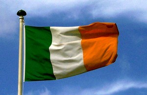 Ireland's flag -- Photo by Michal Osmenda via Wikipedia