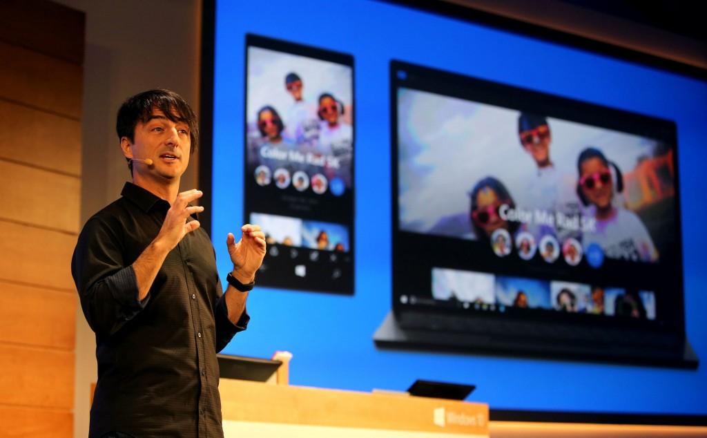 Joe Belfiore at BUILD, Credit - Microsoft