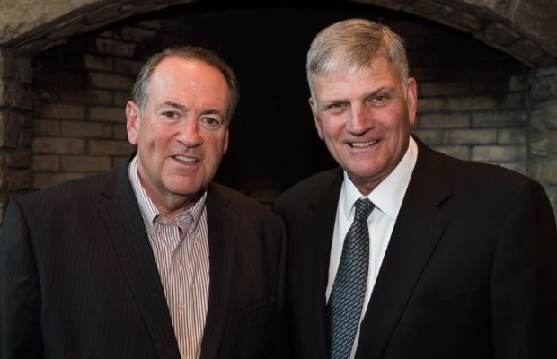 Mike Huckabee and Franklin Graham, Credit - Facebook