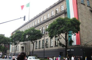 The Mexican Supreme Court building in Mexico City (Photo credit: Thelmadatter, via Wikimedia Commons).