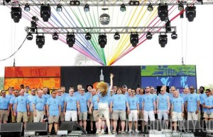 File Photo: Gay Men's Chorus performs at Capital Pride