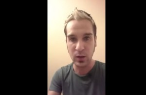 Screenshot of Jesse Bartholomew's video (Video credit: Jesse Bartholomew).