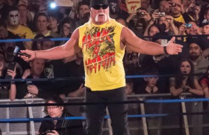 Hulk Hogan at Impact! TV taping (Credit: Simon Q, via Wikimedia Commons).