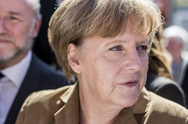 German Chancellor Angela Merkel (Credit: FNDE, via Wikimedia Commons).