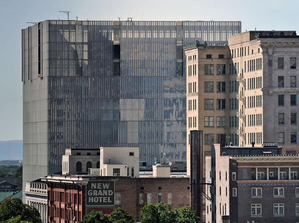 U.S. Courthouse for the District of Utah (Credit: Swilsonmc, via Wikimedia Commons).